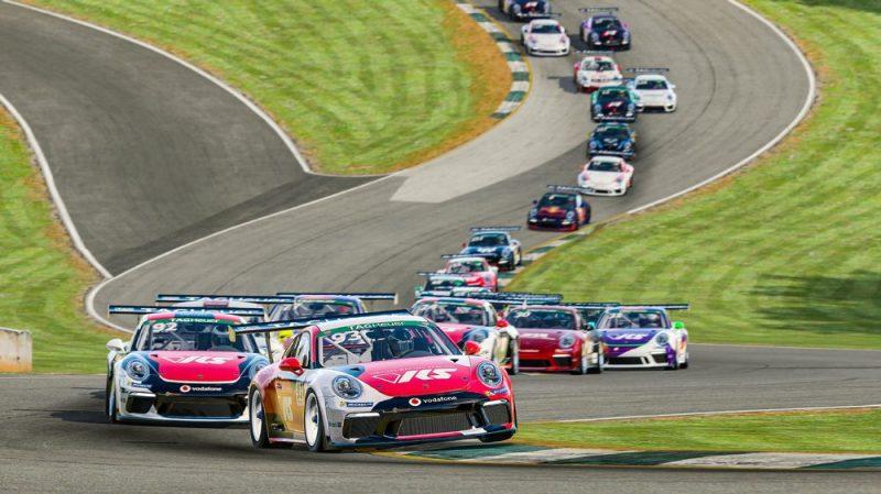 Porsche 911 GT3 Cup, Charlie Collins (GB), #93, Porsche TAG Heuer Esports Supercup, 2021, Start