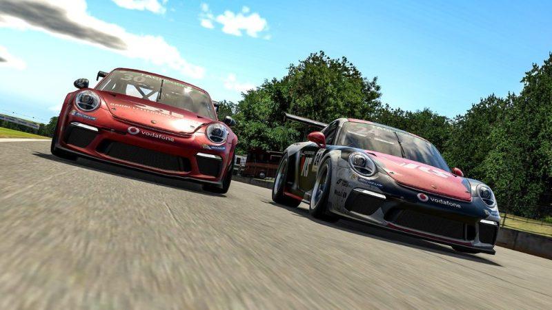 Porsche 911 GT3 Cup, Kevin Ellis Jr. (GB), #30, Michel de Jong (USA), #24, Porsche TAG Heuer Esports Supercup, 2021 2