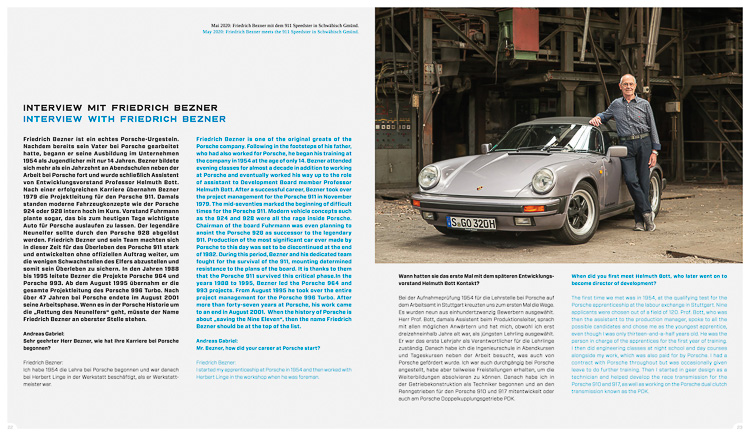 Friedrich Bezner, the real savior of the Porsche 911