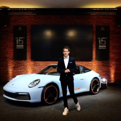 2021 : a new limited edition Porsche 911 ( 6 cars : 2 coupe, 2 Cabriolet, 2 Targa)