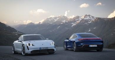 Update Porsche Taycan
