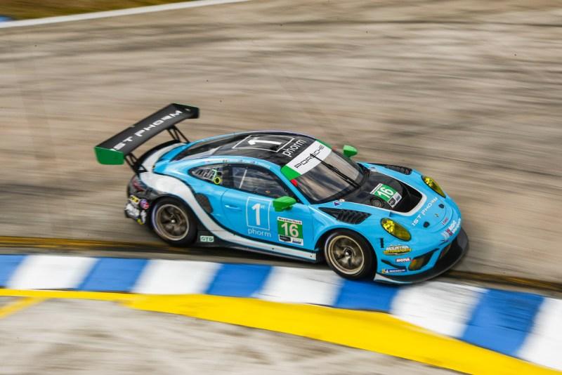 Porsche 911 GT3 R, Wright Motorsports #16, Trent Hindman (USA), Patrick Long (USA), Jan Heylen (B)