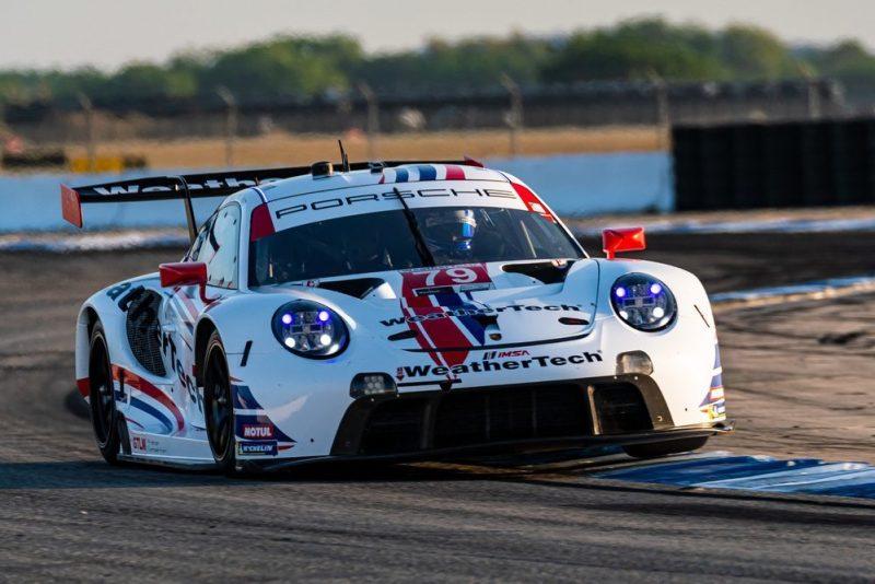 Porsche 911 RSR, WeatherTech Racing #79, Cooper MacNeil (USA), Matt Campbell (AUS), Mathieu Jaminet (F)