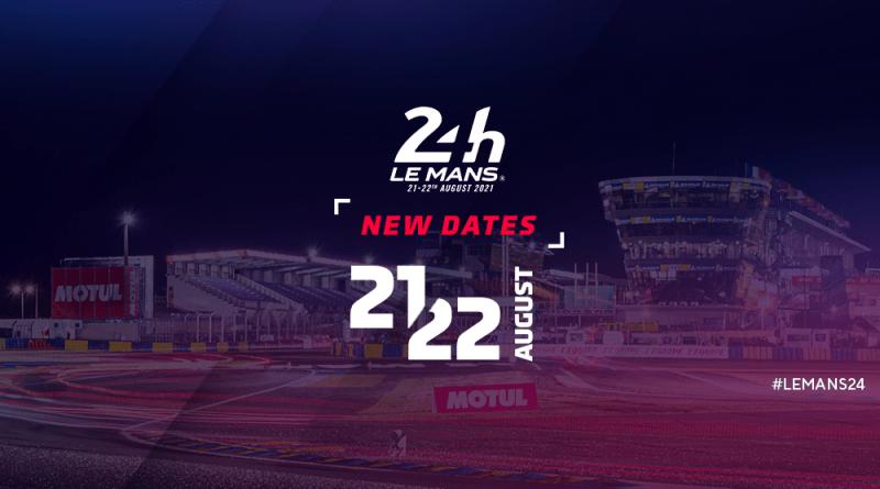 24H Le Mans 24H postponed