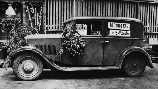 1931 Porsche Type 7 Wanderer W21