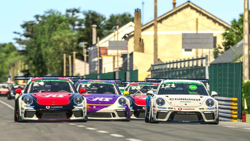 Porsche 911 GT3 Cup, Michel de Jong (USA), #24, Diogo C. Pinto (POR), #121