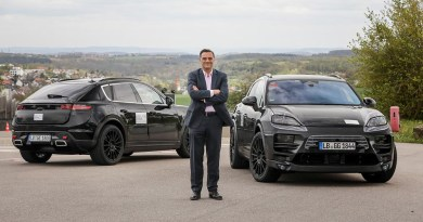 Ready to start the road-tests of the all-electric Porsche Macan