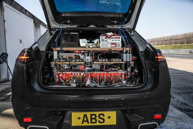 Prototyp all-electric Porsche Macan