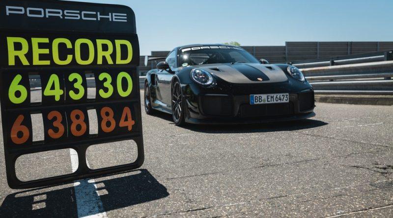 Porsche 911 GT2 RS; Lap record Nürburgring 2021