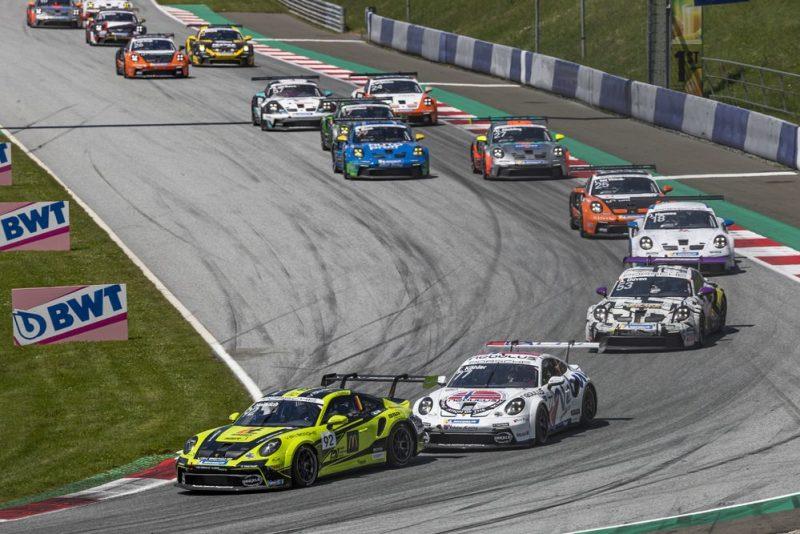 Porsche 911 GT3 Cup, Laurin Heinrich (D), Porsche Carrera Cup Deutschland, Red Bull Ring 2021
