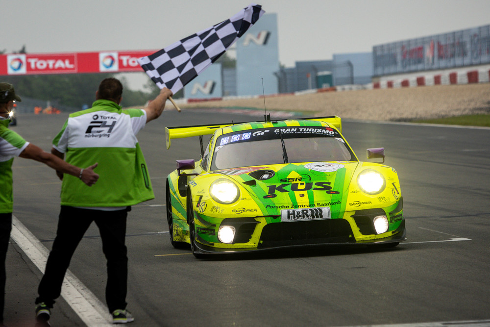 photo of Porsche 911 GT3 R of Manthey Racing Team wins the Nürburgring 24H. image