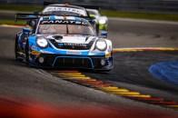 Porsche 911 GT3 R, KCMG (#18), Josh Burdon (AUS), Alexandre Imperatori (CH), Edoardo Liberati (I)