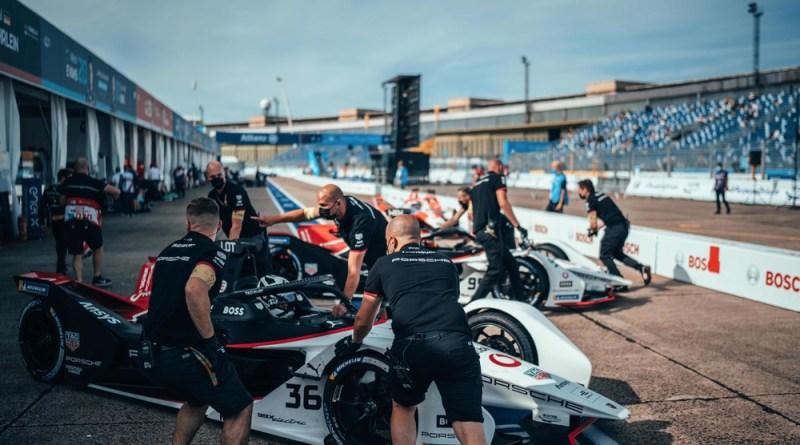 Pitlane Berlin E-Prix- TAG Heuer Porsche Formula E Team