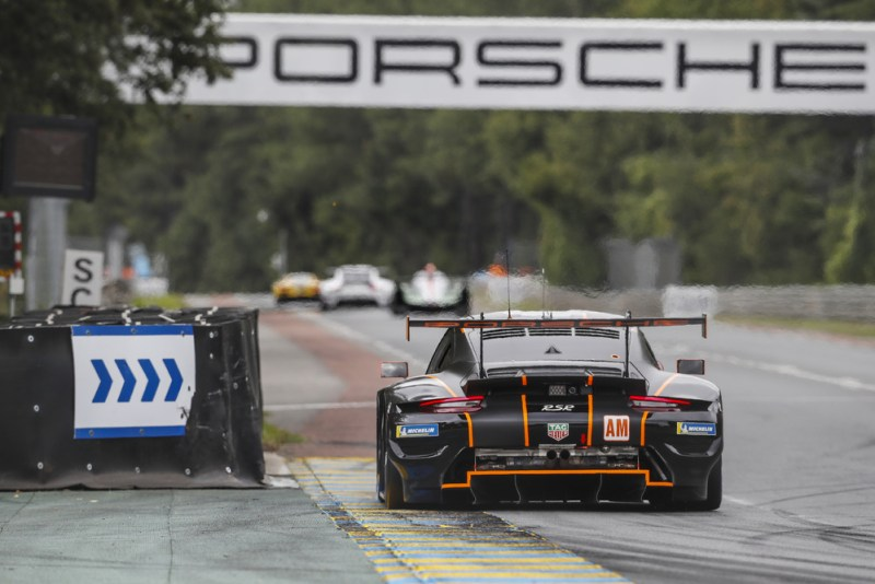 Porsche 911 RSR, GR Racing (#86), Michael Wainwright (GB), Benjamin Barker (GB), Tom Gamble (GB) - Le Mans 24H Hyperpole