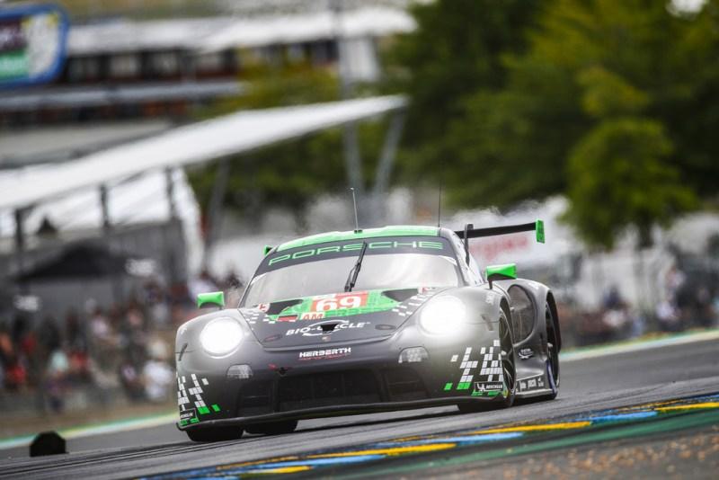 Porsche 911 RSR, Herberth Motorsport (#69), Robert Renauer (D), Rolf Ineichen (CH), Ralf Bohn (D),