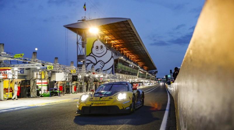 Le Mans 24H Hyperpole Porsche 911 RSR, HubAuto Racing (#72), Maxime Martin (B), Alvaro Parente (P), Dries Vanthoor (B)