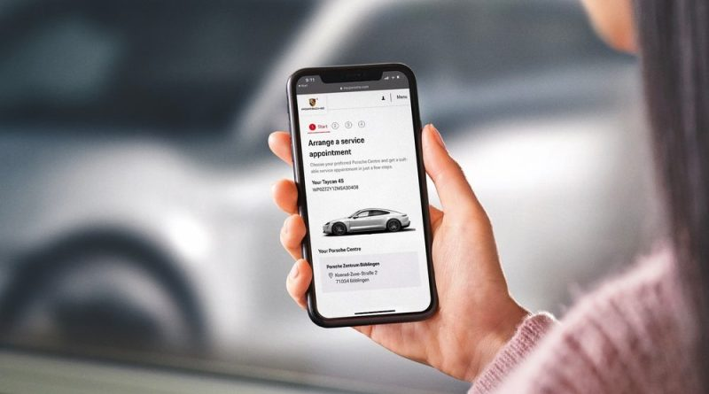 """Porsche is expanding its digital aftersales services in the central ecosystem """"My Porsche"""""""