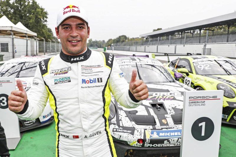Podium- Ayhancan Güven (TR), Phoenix Racing, Porsche Carrera Cup Deutschland, Monza II 2021