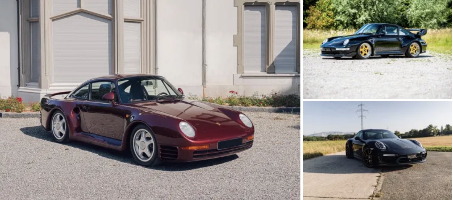 photo of Preview to the RM Sotheby's auction at the St. Moritz Automobile Week image