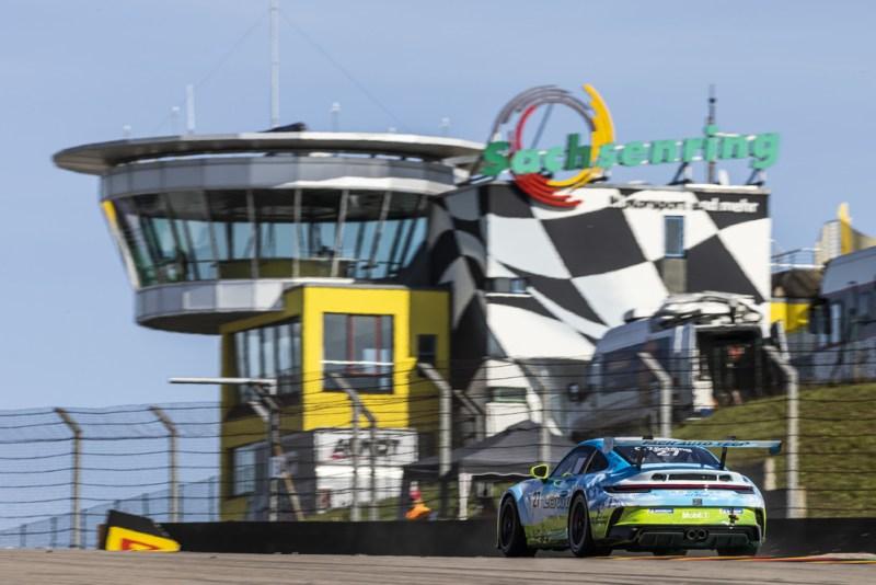 Porsche 911 GT3 Cup, Christopher Zöchling (A), Porsche Carrera Cup Deutschland, Sachsenring 2021