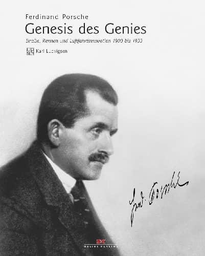 Ferdinand Porsche - Genesis des Genies Book Cover