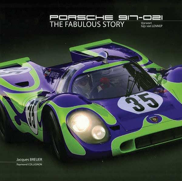 Porsche 917-021 Book Cover