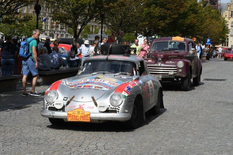 The 1956 Porsche 356 Valkyrie Racing Team