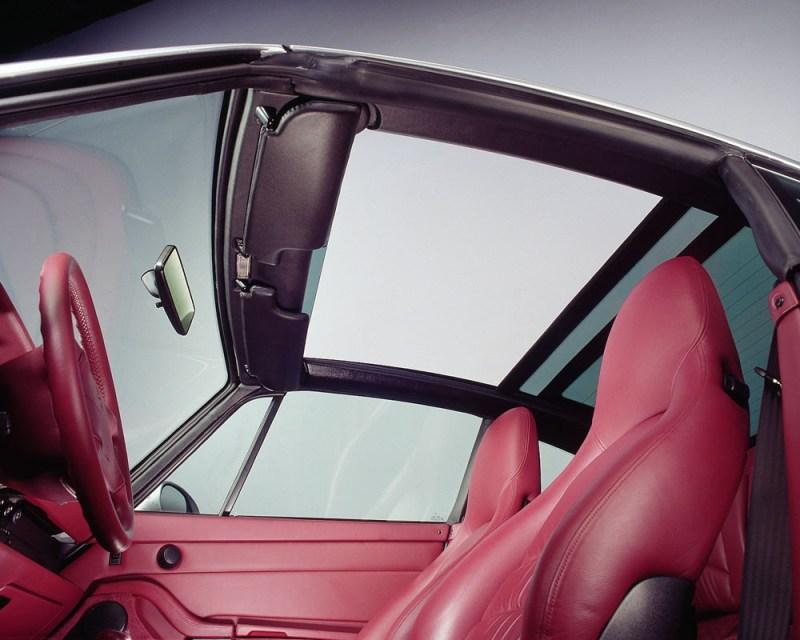 911 Targa 3,6 (285 PS) interior (1996).