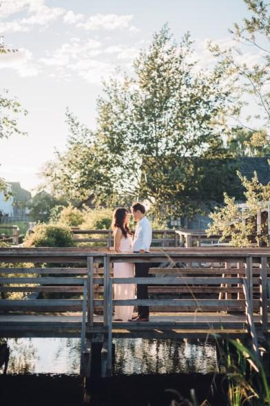 maggie & stephen engagement shoot steveston village richmond bc british columbia beach wedding photography photographer best
