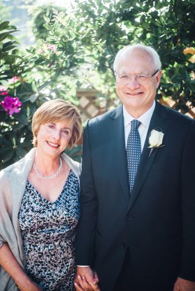 simple backyard wedding vancouver portrait