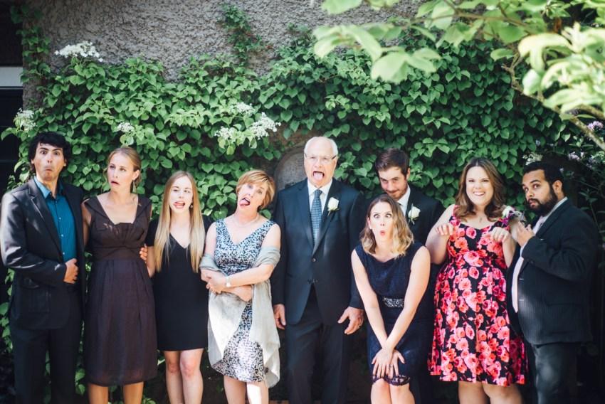 simple backyard wedding vancouver funny lol faces