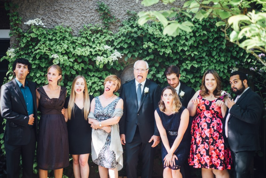 simple backyard wedding vancouver funny lol faces