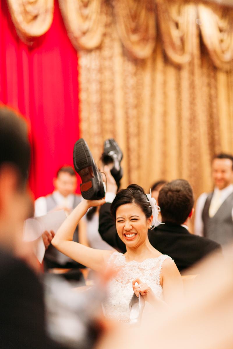 Wedding banquet games