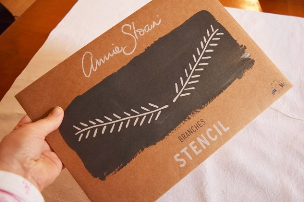 French style fabric stencils