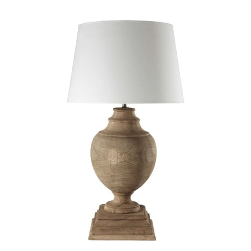 French style wooden lamp bases