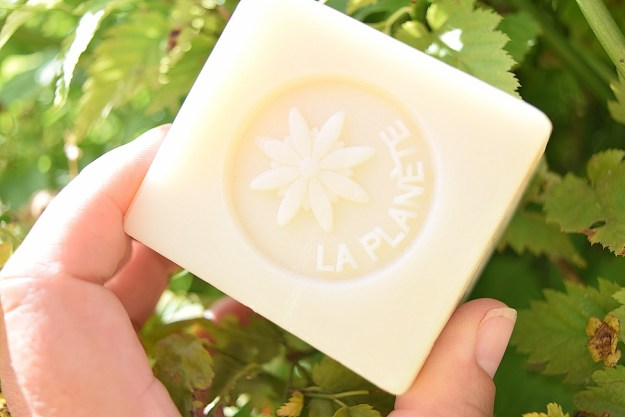 Natural facial cleanser French soap