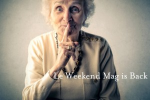 le weekend mag love french style