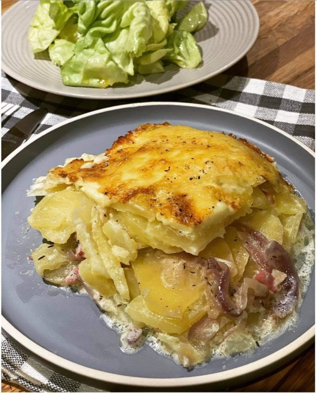 Rustic French Tartiflette recipe