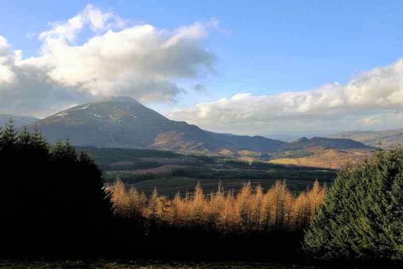 Scotland mountains