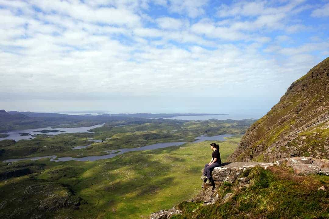 Suilven: Climbing the lonely mountain