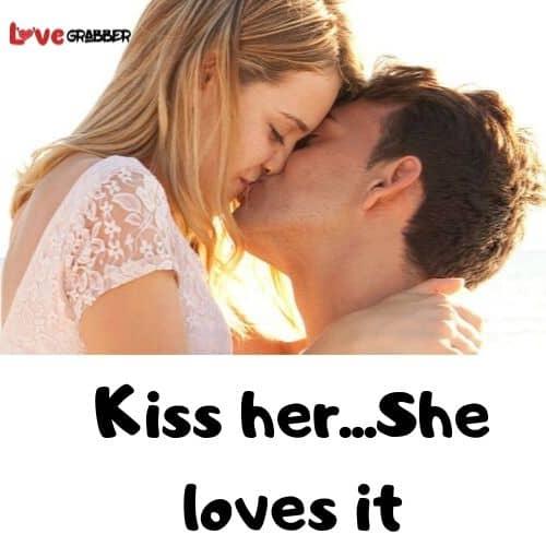 kissing your partner