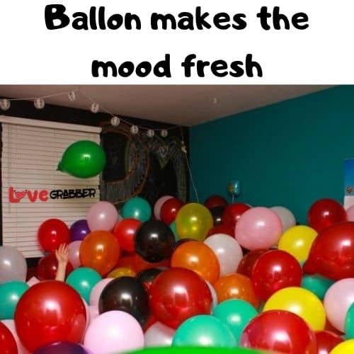 Propose your girl with ballons