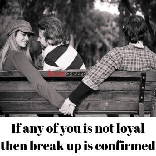 don't be disloyal