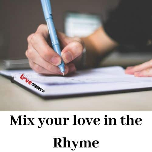 Propose your girl with nice rhyme