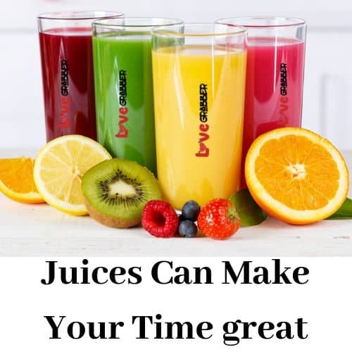 juice can make your time
