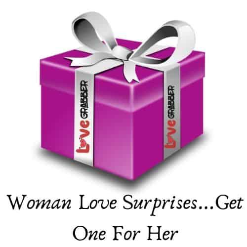 Woman Love Surprises