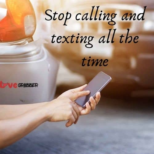 stop calling and texting