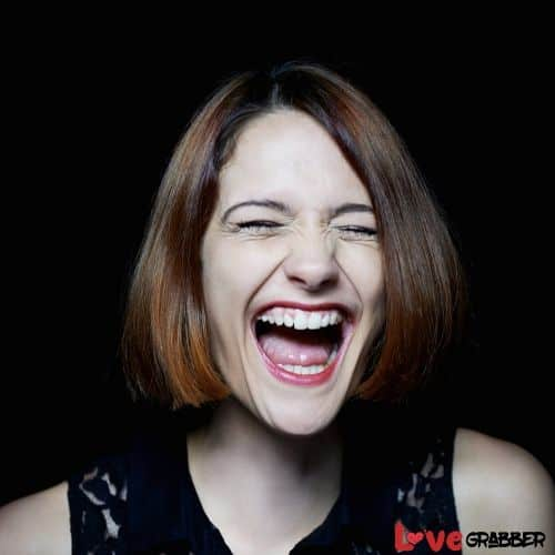 She Laughs At All Your Jokes or Any Time
