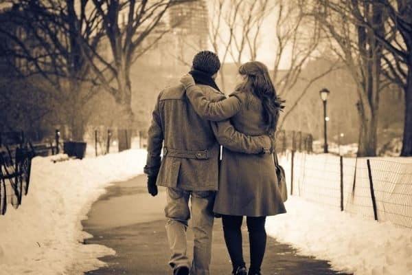 couples walking