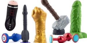 Read more about the article Best Marvel Avenger superhero sex toys to buy. (dildo + buttplug)